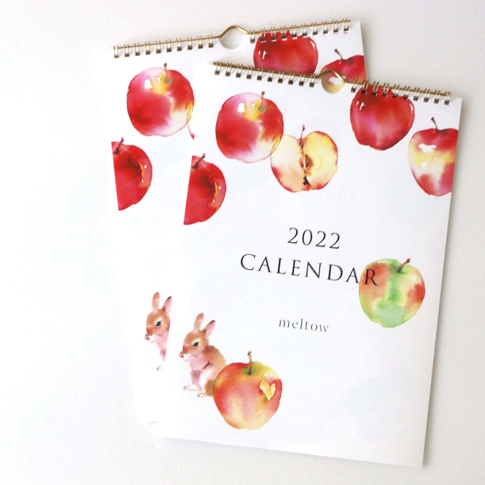 2022 A4壁掛けカレンダー【予約販売12月中旬発送】
