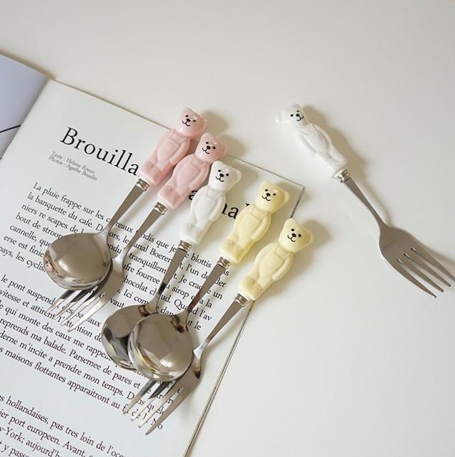 【即納】bear cutlery  / BLHW167121 / 韓国インテリア / カトラリー