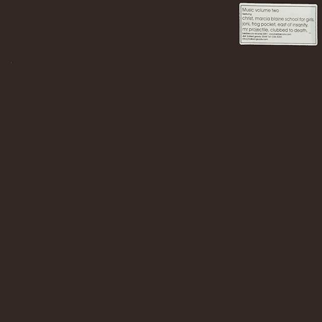 "Various – Music Volume Two (12"") - メイン画像"