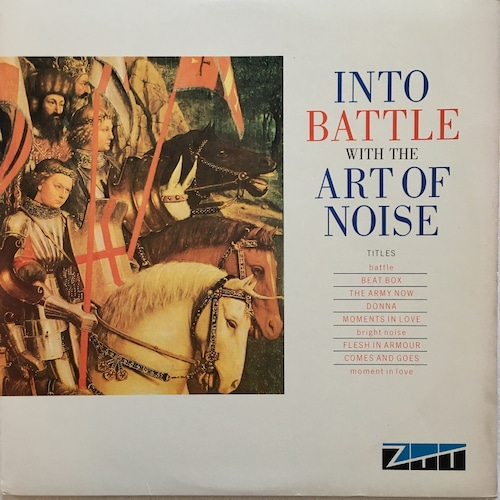 【12inch・米盤】The Art Of Noise  / Into Battle With The Art Of Noise