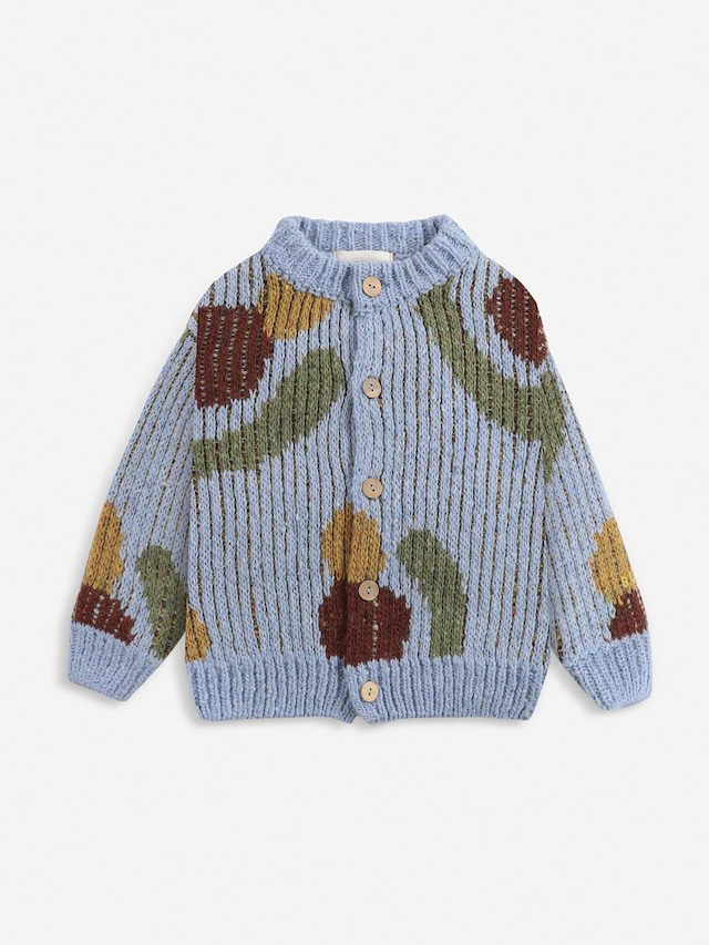 【21AW】bobochoses(ボボショセス)Fruits Knitted cardigan カーディガン
