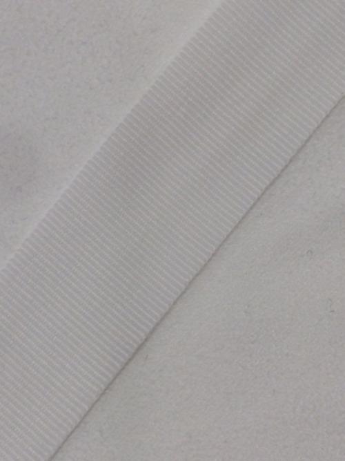 YKK グログランテープ 13mm 白 1巻 500m