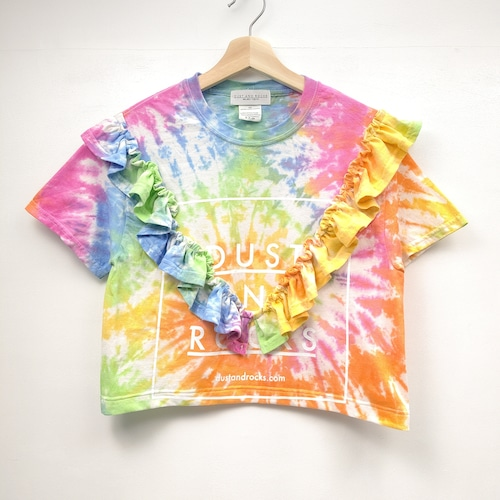 【DUST AND ROCKS made】リメイクTシャツ