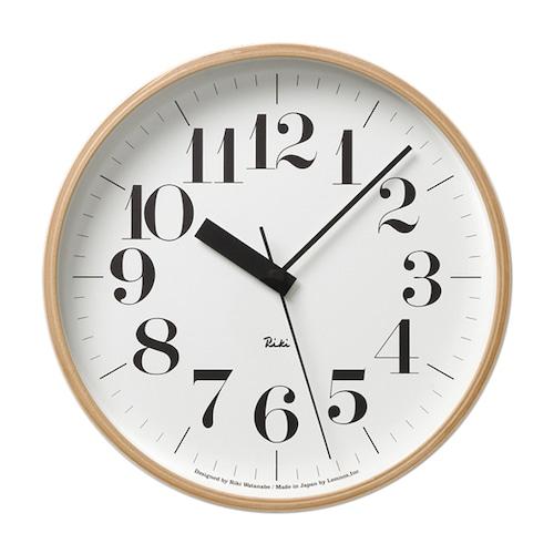Riki Clock 電波時計(WR20-02)