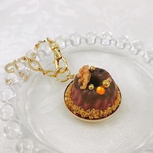 チョコクグロフのバッグチャーム