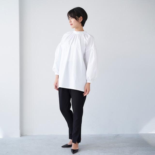 【コーディネートでお得】ブラウス(WHITE)×パンツ コーディネート セット