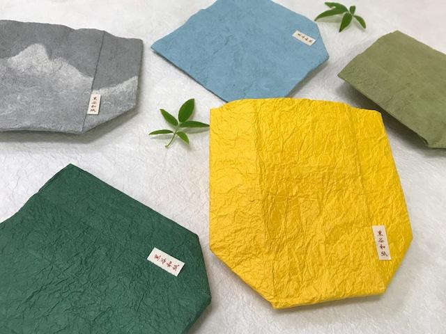京都黒谷和紙  植木鉢ポットカバー ミニサイズ