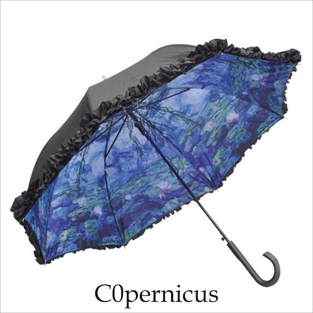 傘 晴雨兼用 UVカット【モネ 睡蓮 傘】浜松雑貨屋C0pernicus
