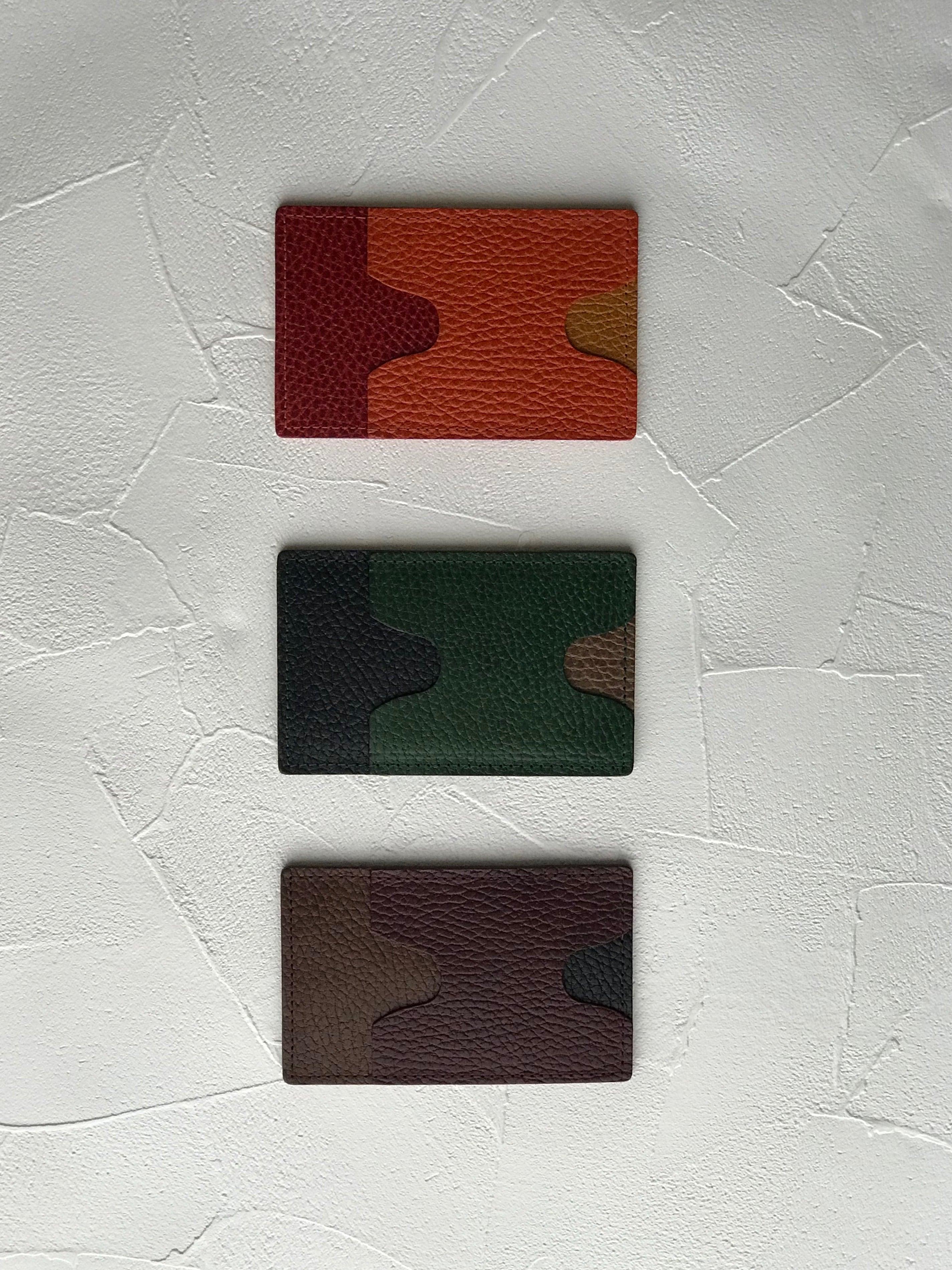 パスケース torico1 □ネイビー・ワイン・チョコ□ - 画像4