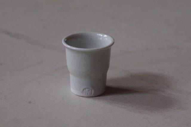 伊藤環 475.白磁広東聞香杯
