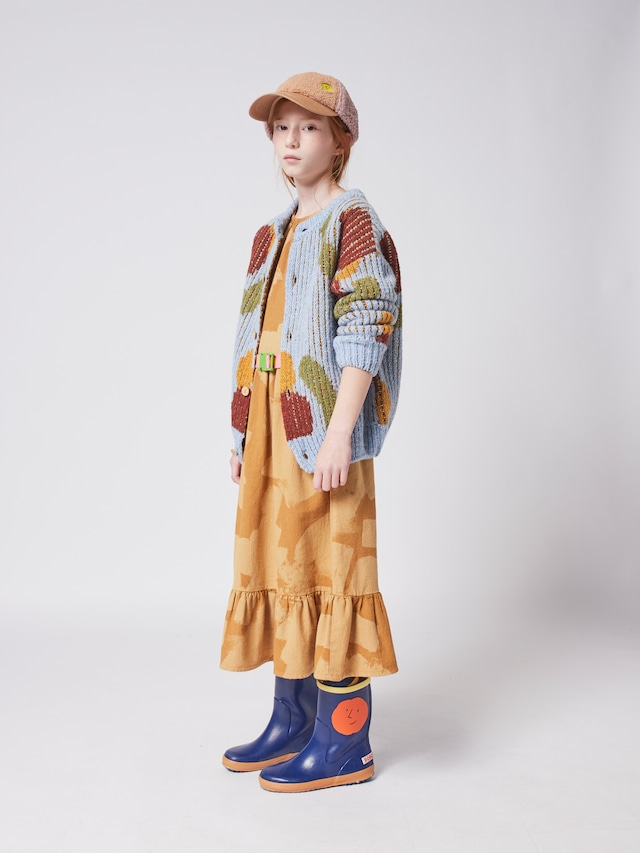 【21AW】bobochoses(ボボショセス)Fruits All Over Knitted cardigan カーディガン