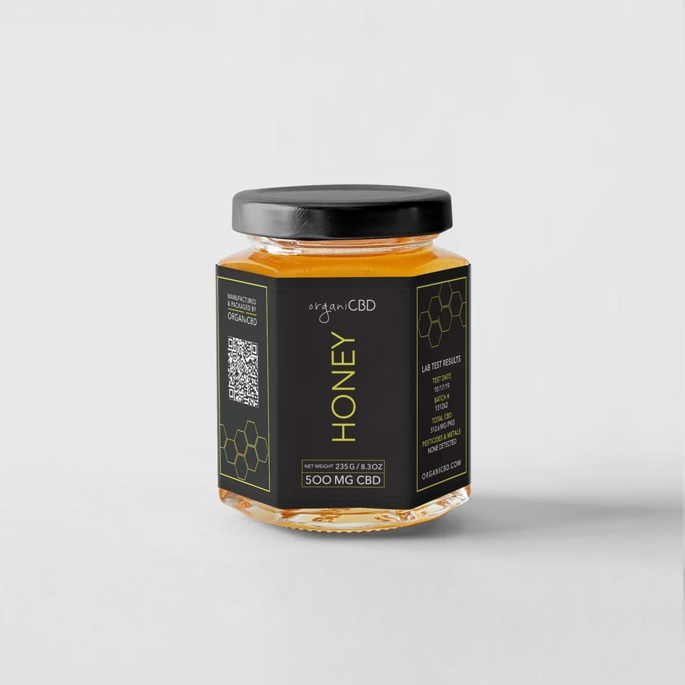 OrganiCBD CBDハニー / CBD蜂蜜(瓶タイプ)