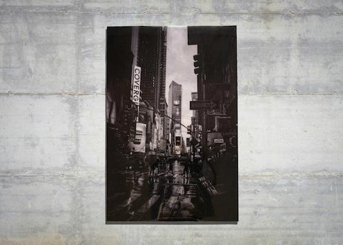 New York, Times square Monochrome