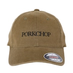 WASHED COTTON CAP Type-A/BROWN