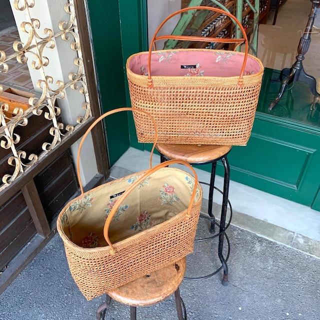 バリのアタ製かごバッグ(裏布付)