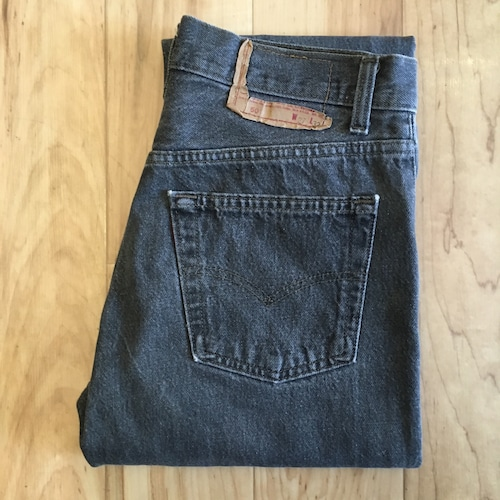 """Levi's 501 80's BLACK W27 inch """"Made in USA """""""