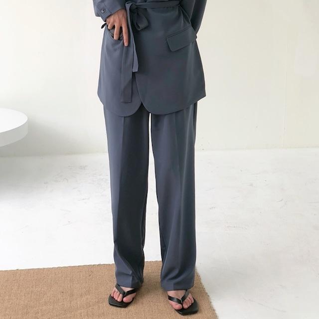 Drape high waist pants   a-364