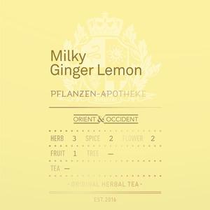 Milky Ginger Lemon
