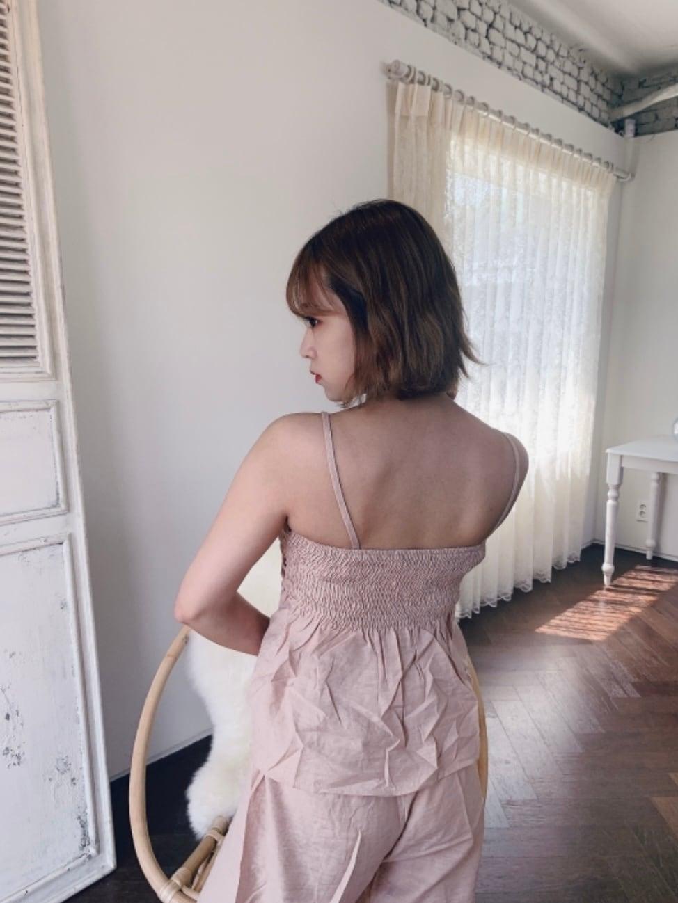 【SSC atelier】camisole set up (beige)