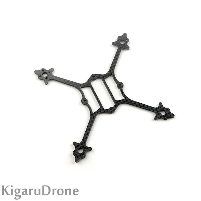 【Crux3スペアパーツ】 Happymodel 3K Carbon Fiber Glass Frame for Crux3 用 カーボンフレーム