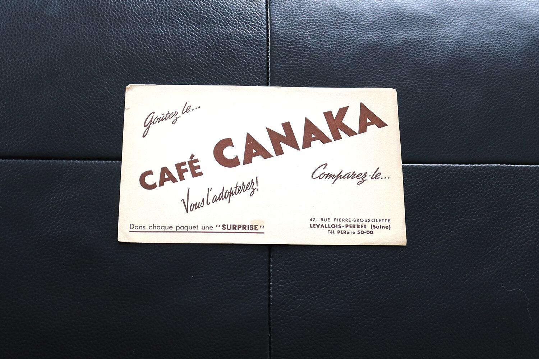 【フランス】ビュバー/ CAFE CANAKA