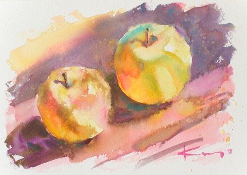 NO.145「朝のりんご」