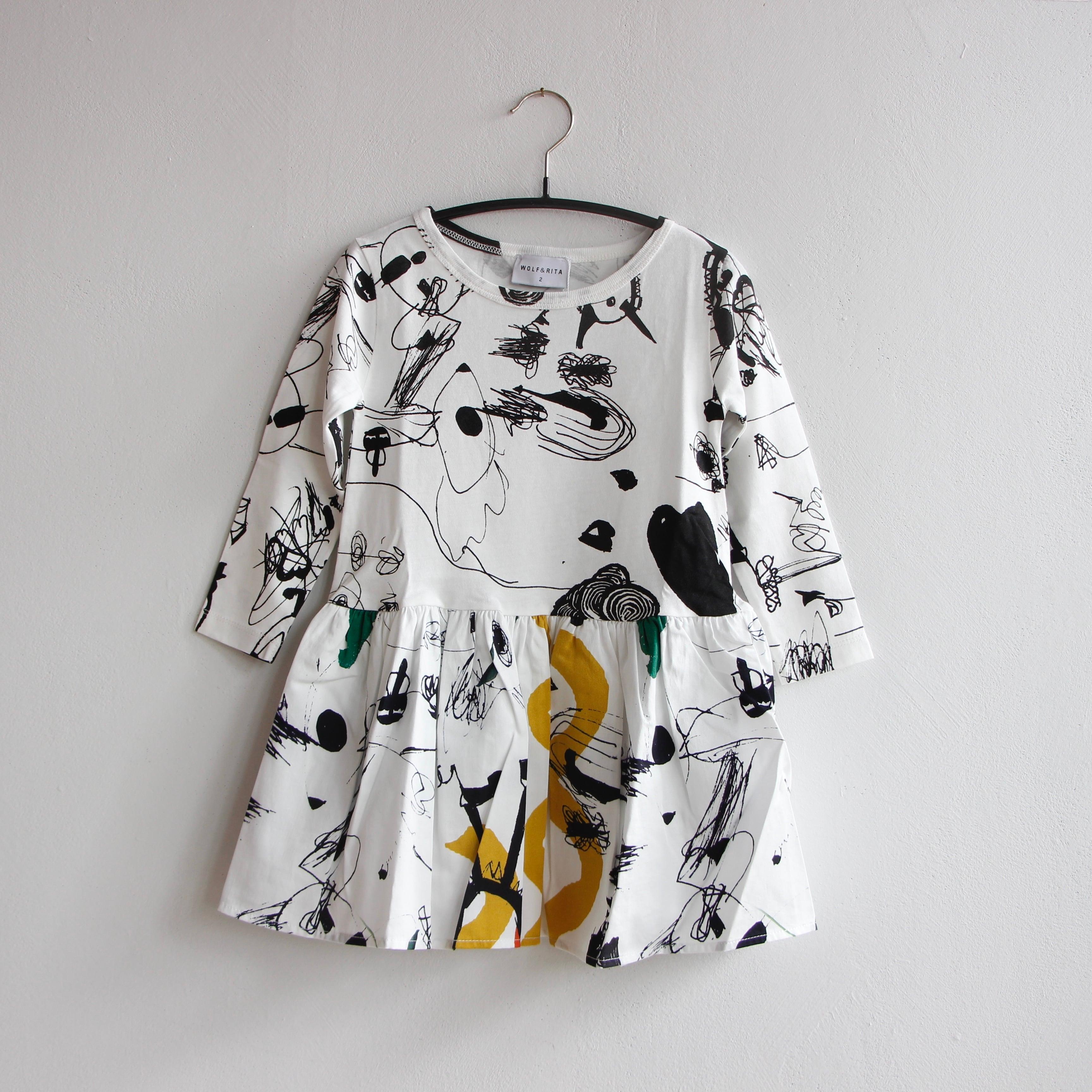 《WOLF & RITA 2021AW》MERCEDES dress / LOVE THEATER