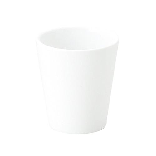 強化磁器 ミニカップ(φ5cm×H5.5cm/満水60ml) カップ 白無地【1958-0000】