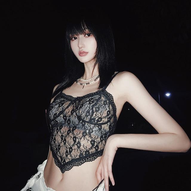 【トップス】カジュアルセクシーレースファッションキャミソール41316989
