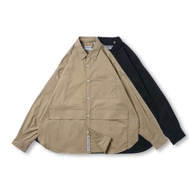 【UNISEX】ロングスリーブシャツ オータムカラー【2colors】UN-569