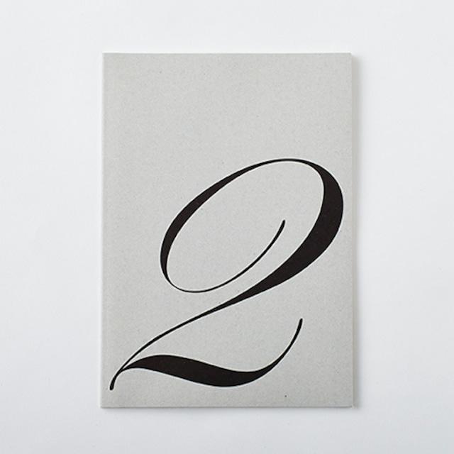 DAILY NOTE/MONOTONE 「2」