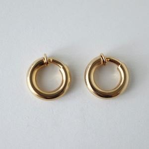 Hoop earrings/gold