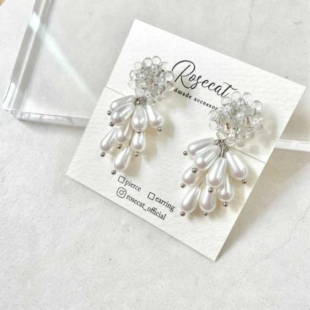 Polygonum earring【RH0003】
