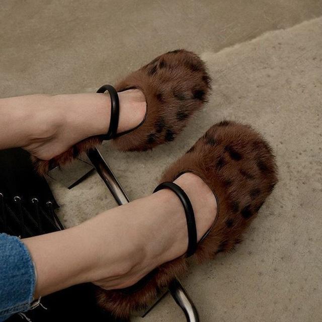 Fur pumps  KRE1071