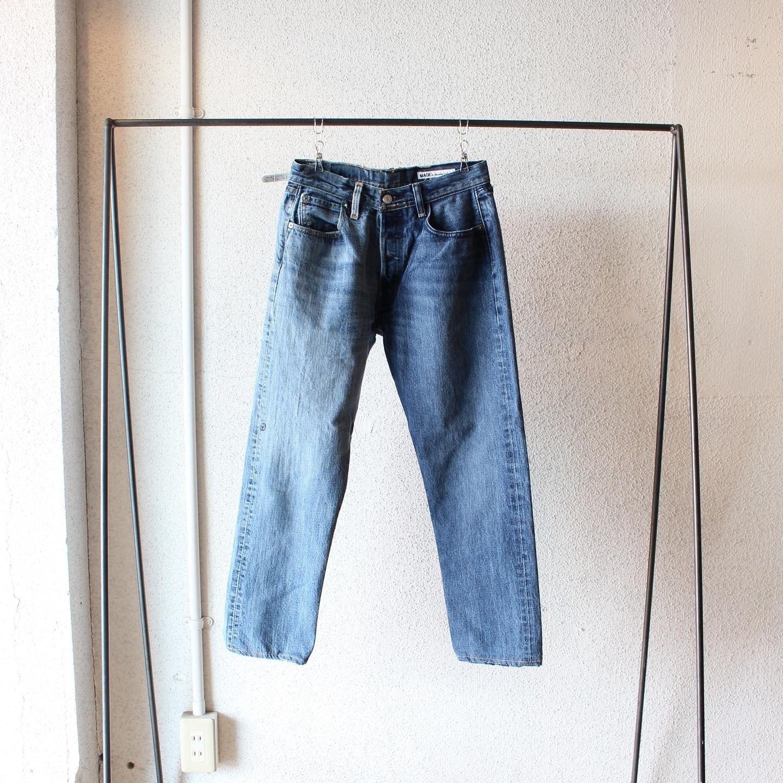 sunny side up (サニーサイドアップ)/  Remake 2For1 Denim Pants(リメイク 2For1 デニムパンツ )ブルーデニム サイズ1 タイプ①