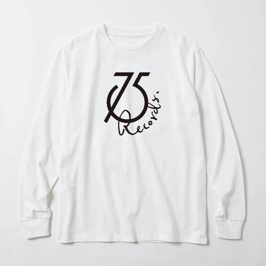 75Records ロングスリーブ Tシャツ