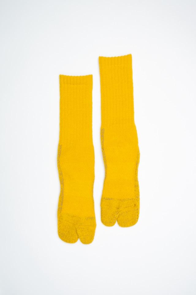84N Wool Long  Socks(Yellow)