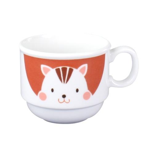 強化磁器 7.8cmカップ かくれんぼ【1977-1370】