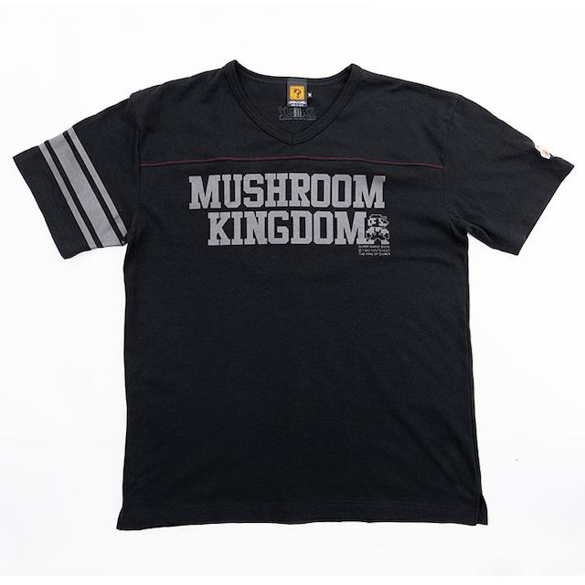 スーパーマリオブラザーズ / KOGフットボールTシャツ(マッシュルームキングダム) / THE KING OF GAMES