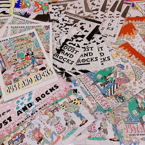 DUST AND ROCKS × yutaka.nojima Post Card