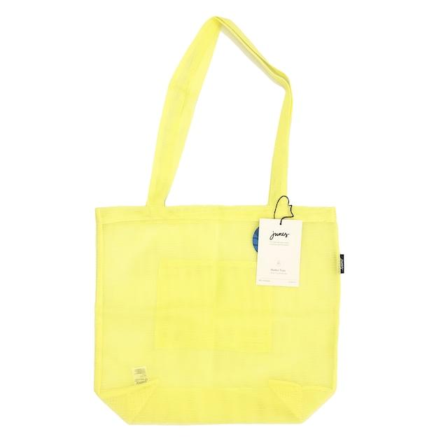 JUNES Bio-Knit Market Tote:Pale Yellow
