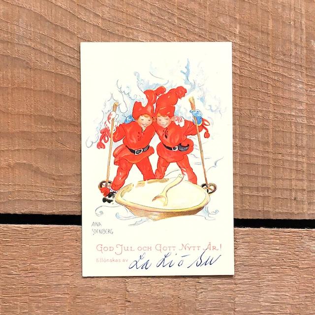 ミニ・クリスマスカード「Aina Stenberg(アイーナ・ステーンベリィ)」《201126-01》