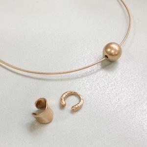SET ITEMS || 【通常商品】PLANET CHOKER & GOLD EAR CUFF SET || 3 ITEMS || GOLD || CRSM0617I