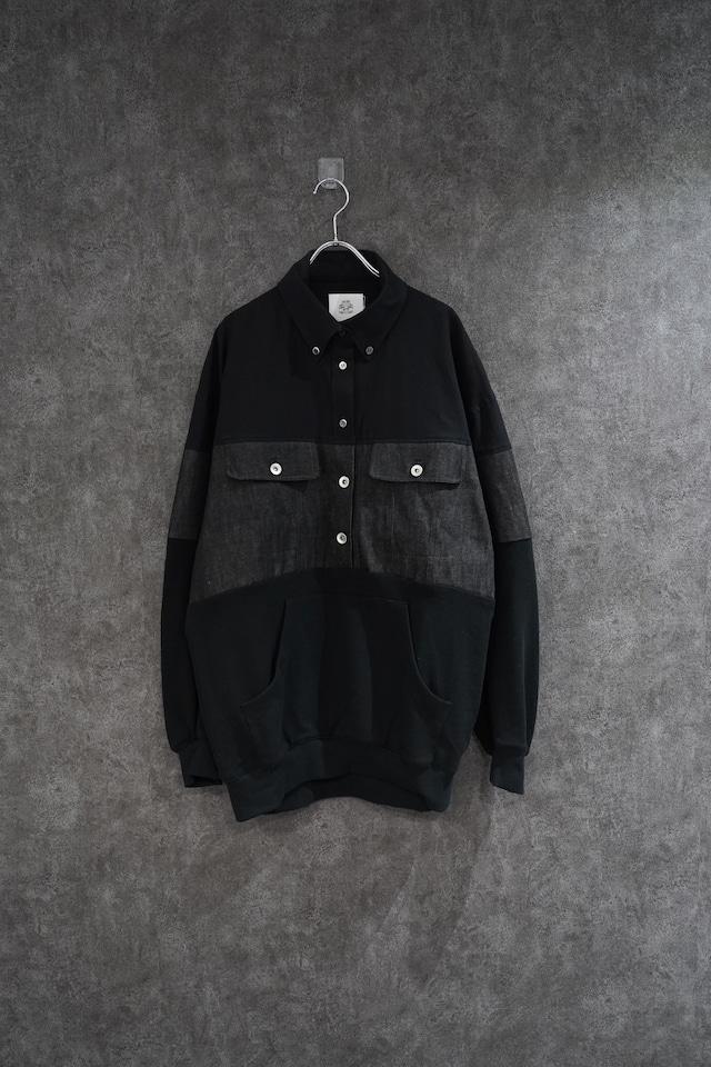 stof  Omnibus mix pullover  Black