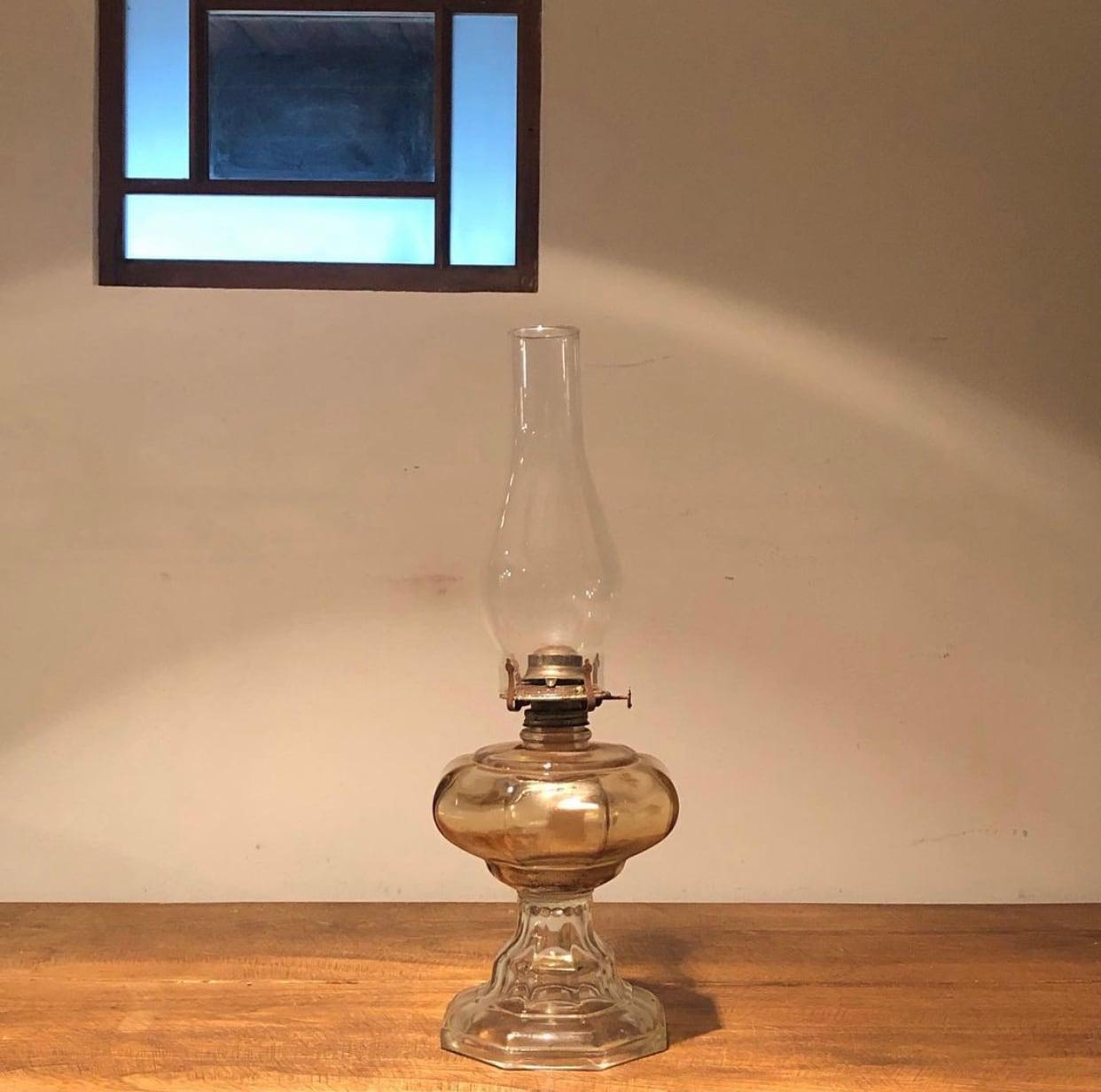アメリカ製 ガラスのアルコールランプ