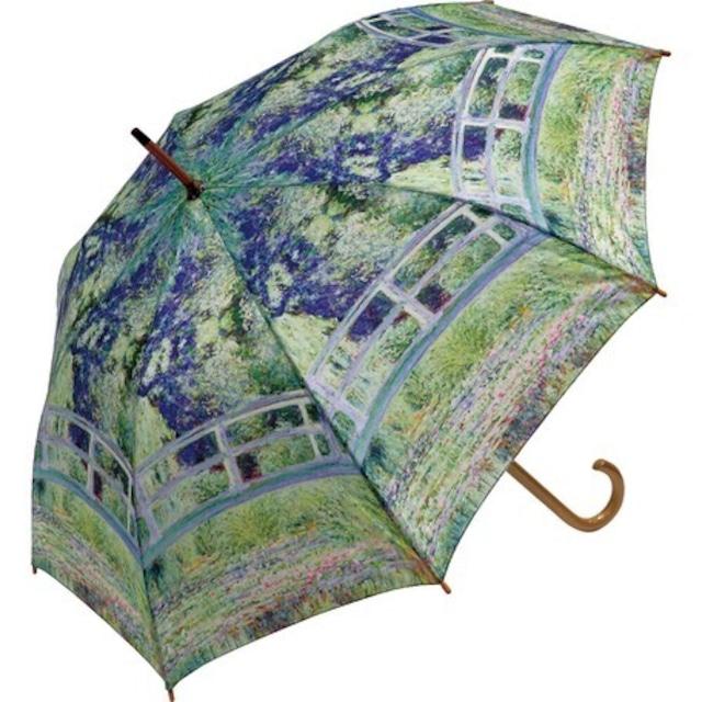 umbrella モネ【日本橋 】名画木製ジャンプ傘  浜松雑貨屋Copernicus