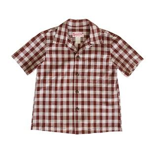 レディース&ボーイズ / オリジナル パラカシャツ  / ブラウン