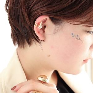 EAR CUFF || 【通常商品】 THORNY STONE EAR CUFF || 1 EAR CUFF || GOLD || FBB071