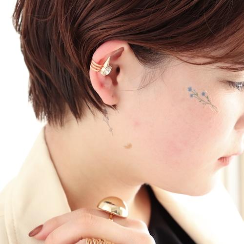 EAR CUFF    【通常商品】 THORNY STONE EAR CUFF    1 EAR CUFF    GOLD    FBB071
