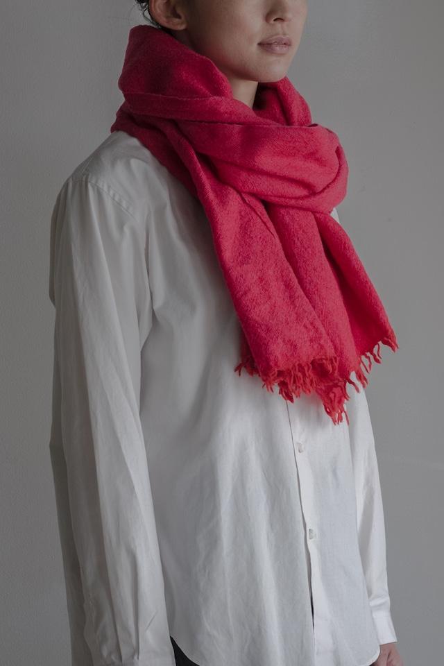 01603-4 chambray muffler / red,pink